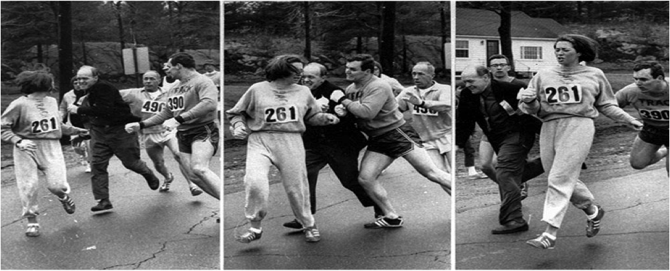 Kathrine's Switzer Boston Marathon
